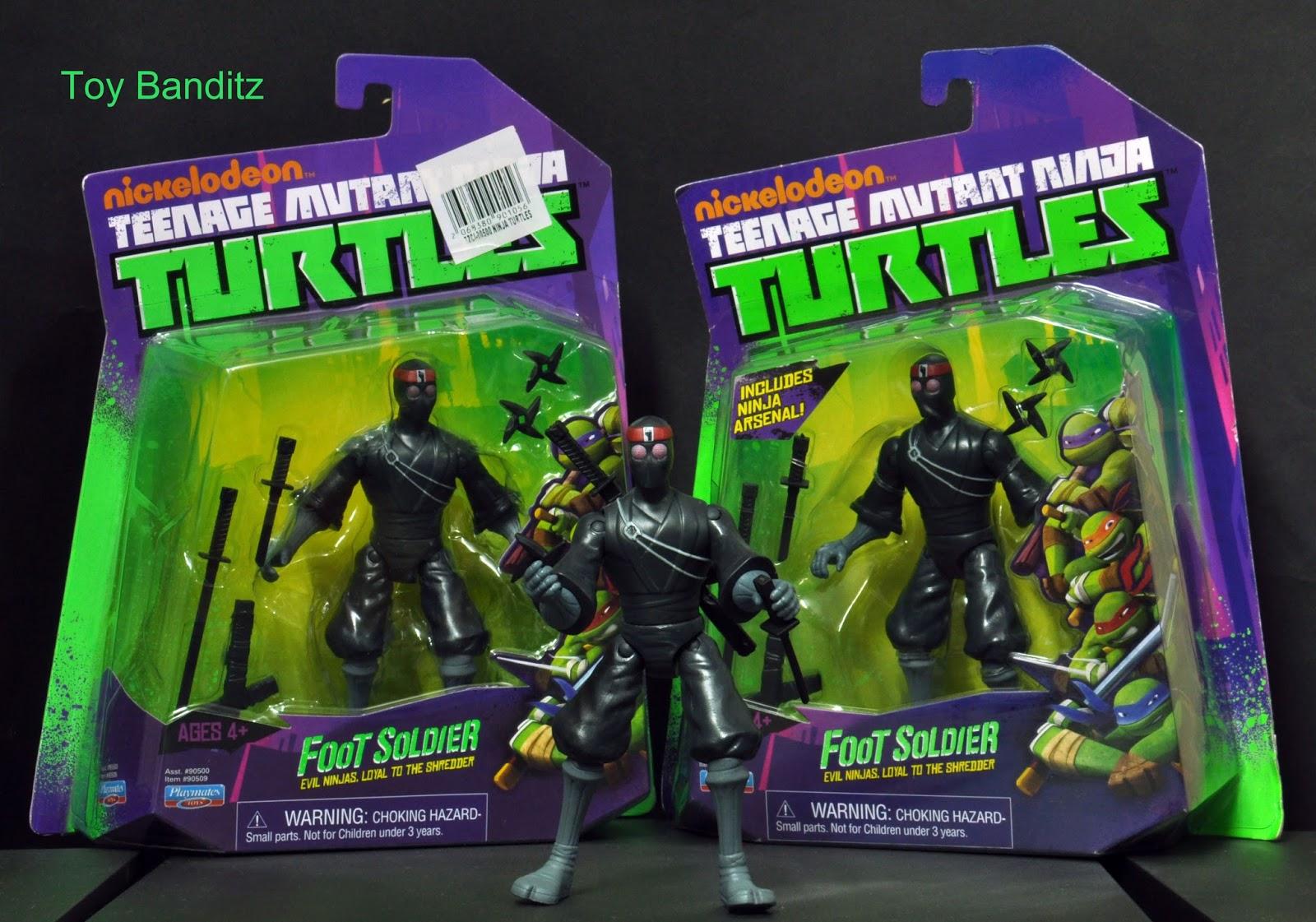 Teenage Mutant Ninja Turtles Shredder Toy : Toy banditz: nickelodeon teenage mutant ninja turtles foot soldier