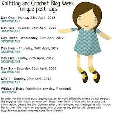 3rd Annual Knitting & Crochet Blog Week