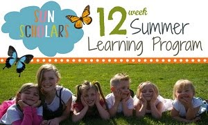 Sun Scholars 12 week summer at home