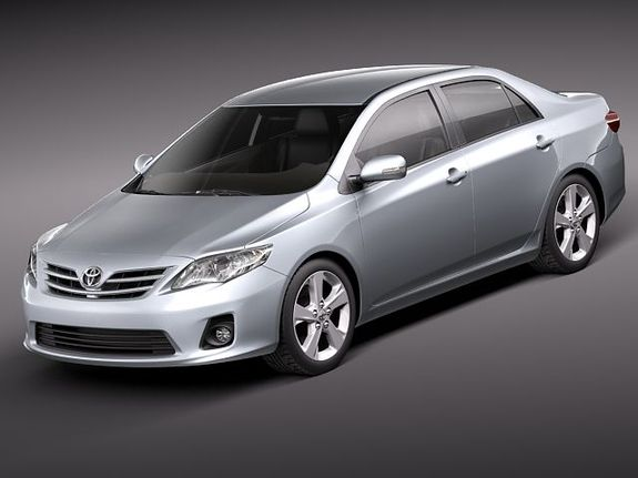Lovely 2012 Toyota Corolla (Powertrain)