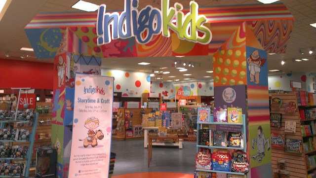 Indigo Kids Section at Chapters