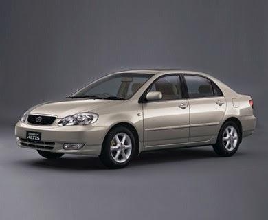 Superior Toyota Corolla Altis   Generation 9.1 (2001 2003)