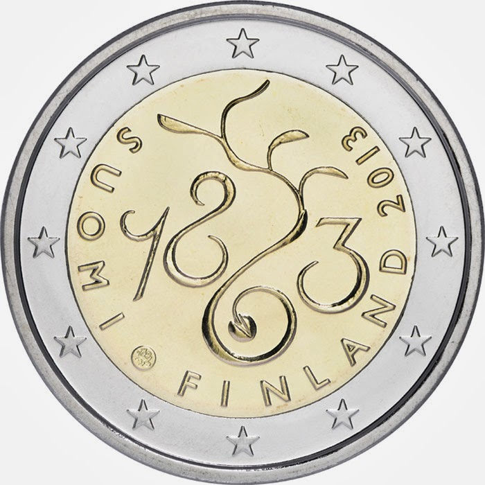 2 euro Finland 2013, Parliament of 1863