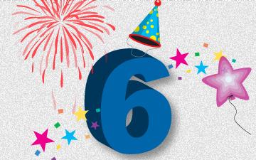 Verjaardagsteksten verjaardagsteksten 6 jaar for Deco slaapkamer jongen jaar oud