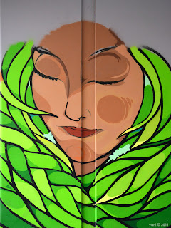 unfinished green lady - morphett street bridge - seb humphreys