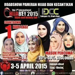 Roadshow Pameran Hijab dan Kecantikan