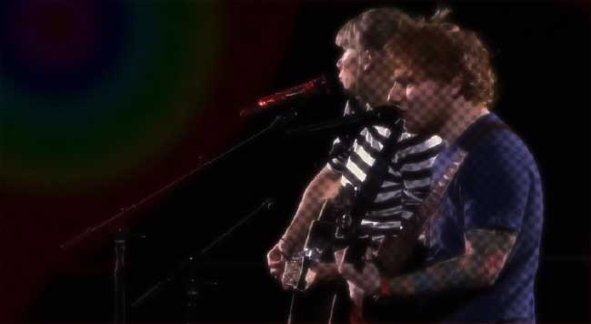taylor swift Ed Sheeran live music