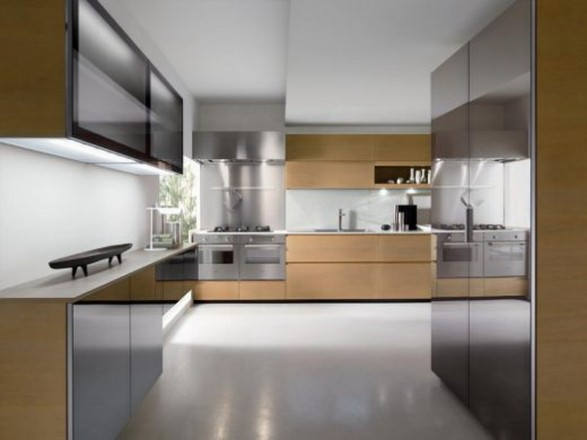 Dise o de cocina funcional y ergon mica decoraciones de cocinas - Trends contemporary kitchen cabinets for small space ...