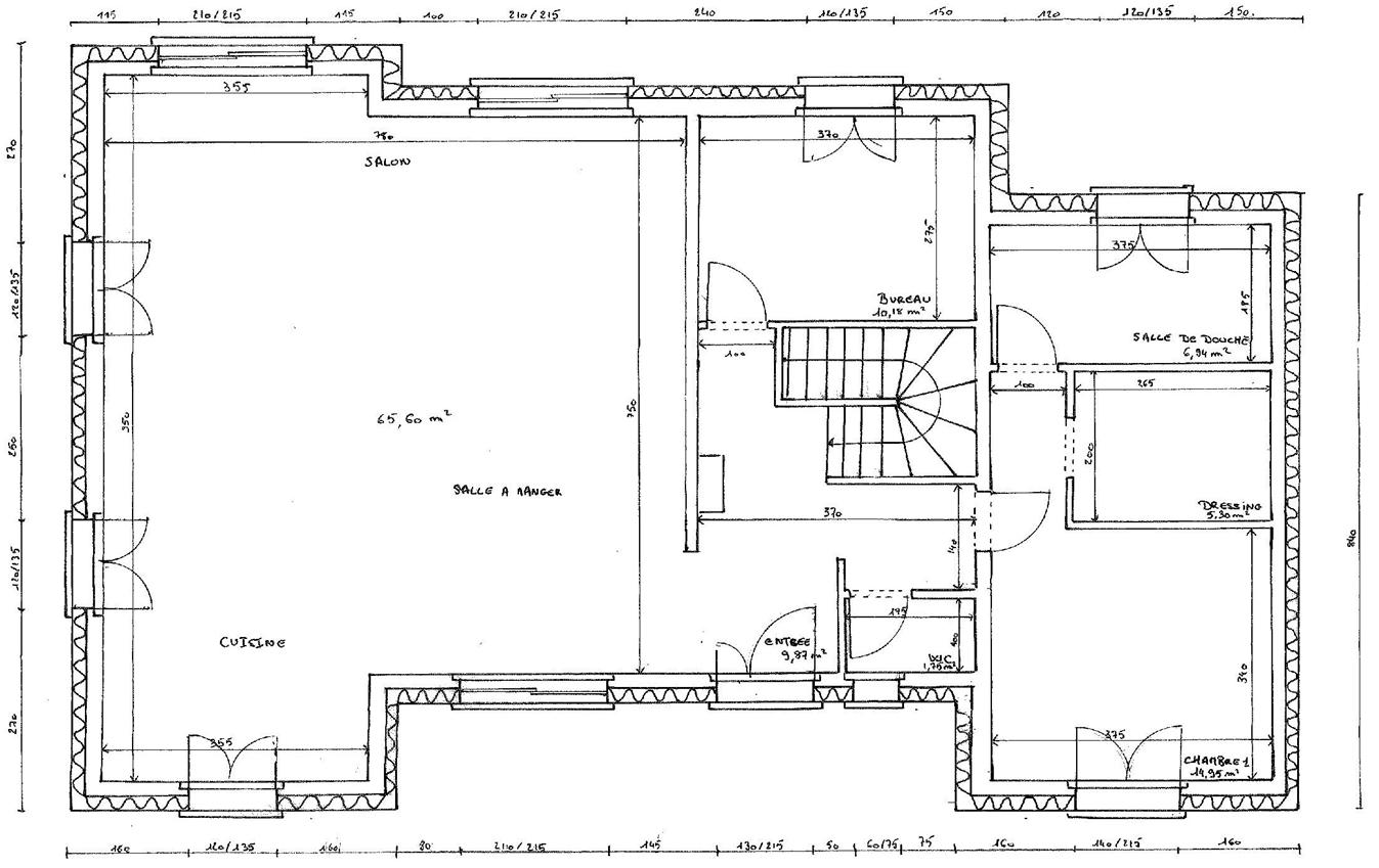 Les plans de la maison projet construction de maison for Le plan de la maison