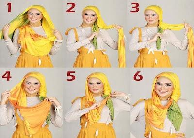 Tutorial Cara Memakai Jilbab