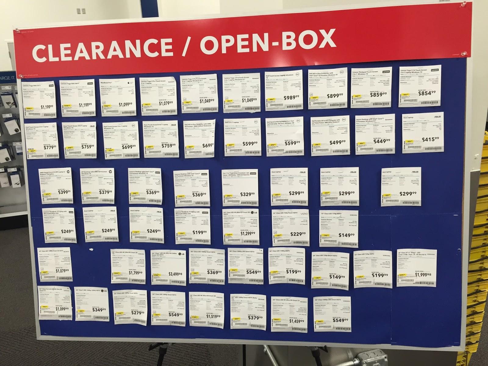 best buy open box