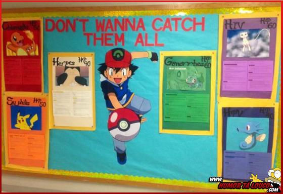 Ensinando sobre DST através de Pokémon