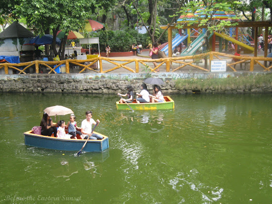 Boating in Manila Zoo