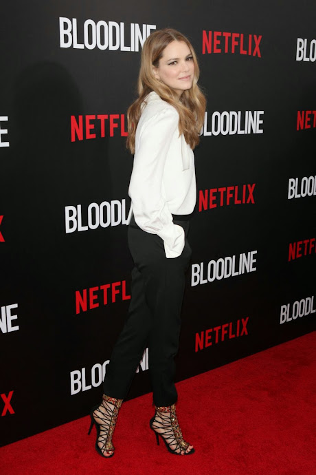 Actress @ Jacinda Barrett - Attends Netflix Original Series 'Bloodline' Premiere