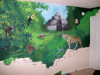 Jungle Mural Walls Painting