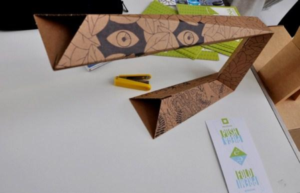 How To Recycle Handmade Recycled Cardboard Table Lamp