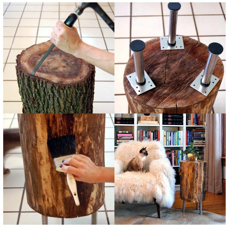 Ali troncos de rvores - Decoracion troncos madera ...
