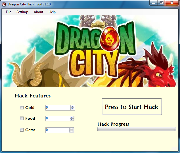 Download the Dragon City Cheat Hack Tool and be the best Dragon City