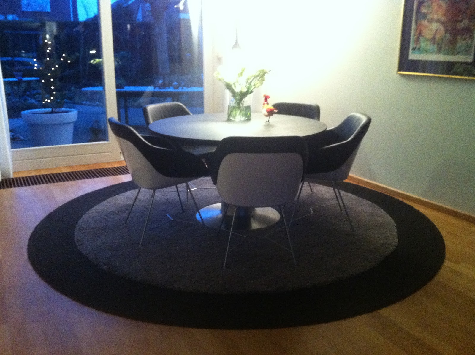 Ploemen interieur walter knoll turtle stoelen en arco balance tafel - Tafel nachtkastje balances ...