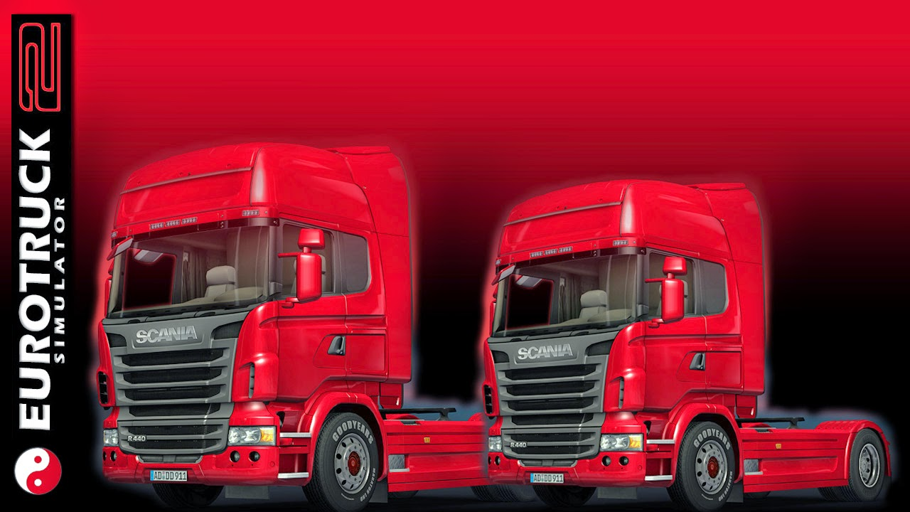 Red ETS2 wallpaper made by 3dartpol