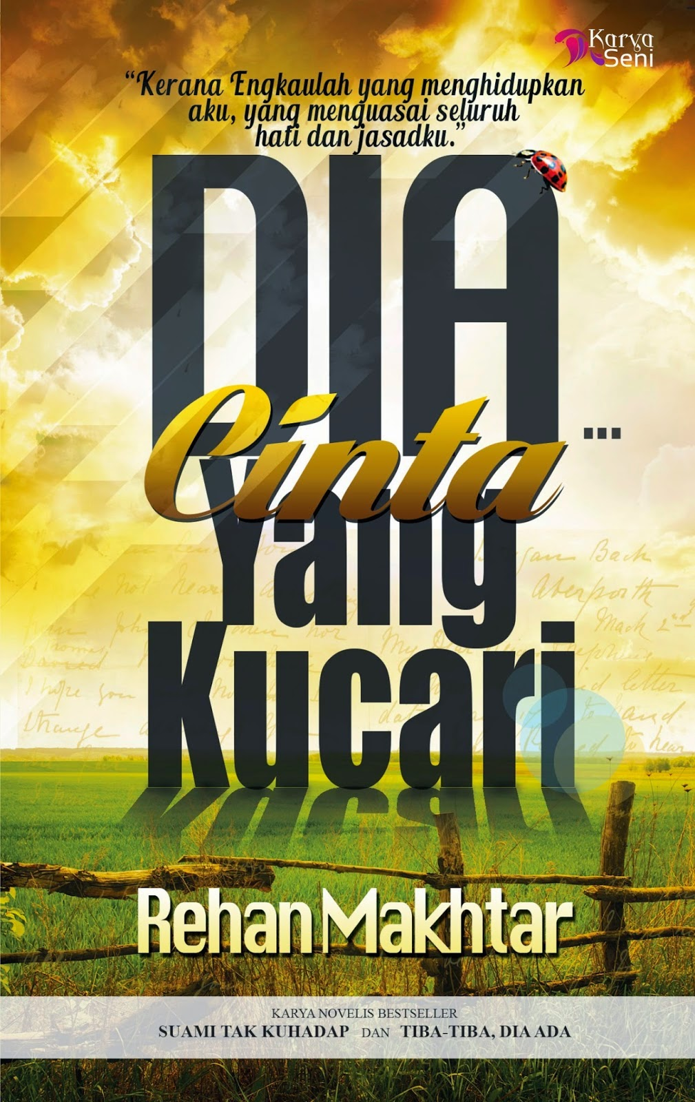 Review Novel DIA Cinta Yang Ku Cari