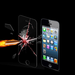 Explosion-proof Tempered Glass Film Screen Protector Kit for Apple iPhone 5 5G