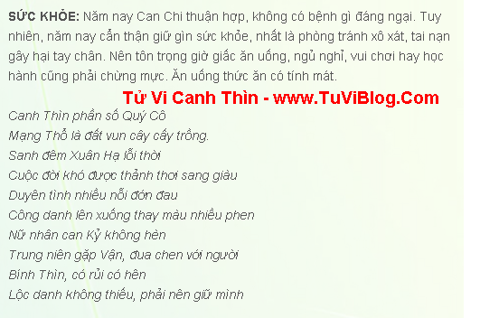 Tuoi Canh Thin 2000 Nam 2016