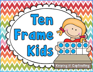 Ten Frame Kids, Ten Frame Kids Posters,  Ten Frame Posters