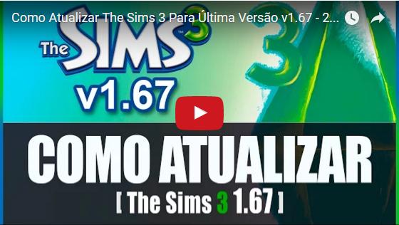 Como Atualizar o The Sims 3 Base para- Gaby's Place