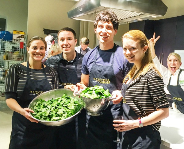 Spinach De-Stemmers. Year of Dates Ideas - Our January Date - Cooking Class | Managing a Home