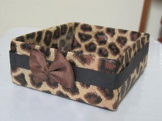Leopard Print Box