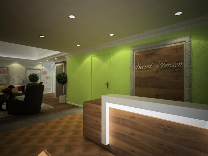 Proposed Interior Design For Spa Center Joyce Lim Design