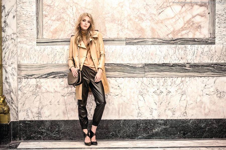 Prüne otoño invierno 215. Carteras, zapatos y abrigos otoño invierno 2015. Moda otoño invierno 2015.