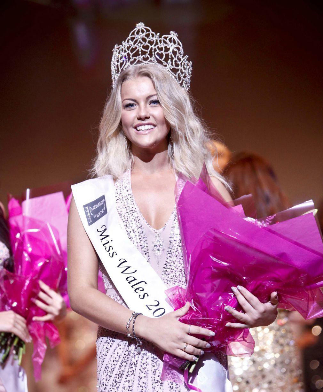 Miss Wales 2013 winner Gabrielle Shaw