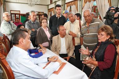 Gobierno de Mérida contribuirá con el ornato y rehabilitación de la Plaza Bolívar de Timotes