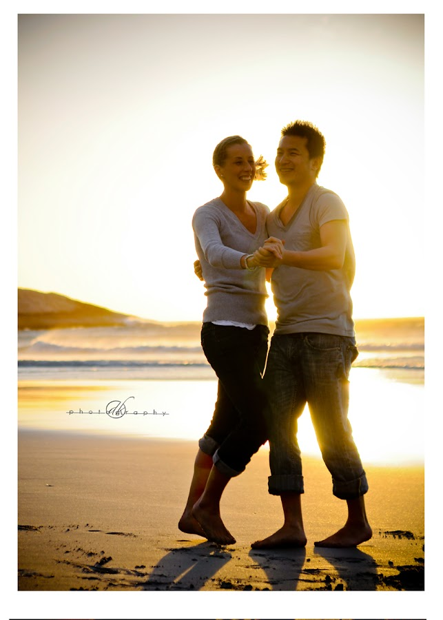 DK Photography 50 Kate & Cong's Engagement Shoot on Llandudno Beach  Cape Town Wedding photographer