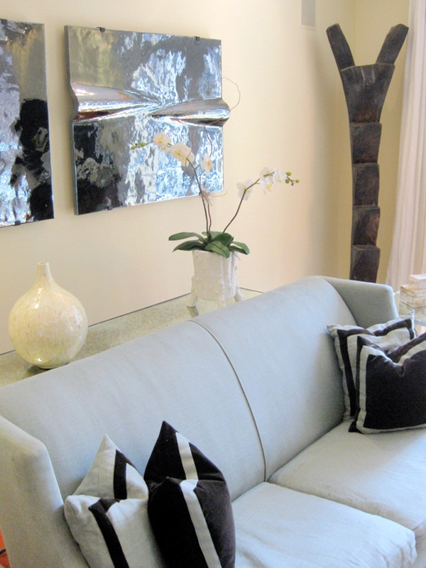 Living Room Elegant Designed by Meg Caswell