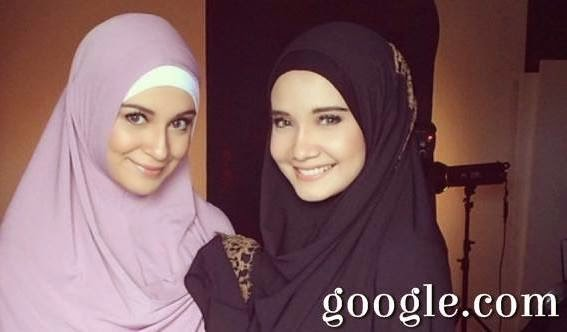 Shireen Sungkar Learning Hijab