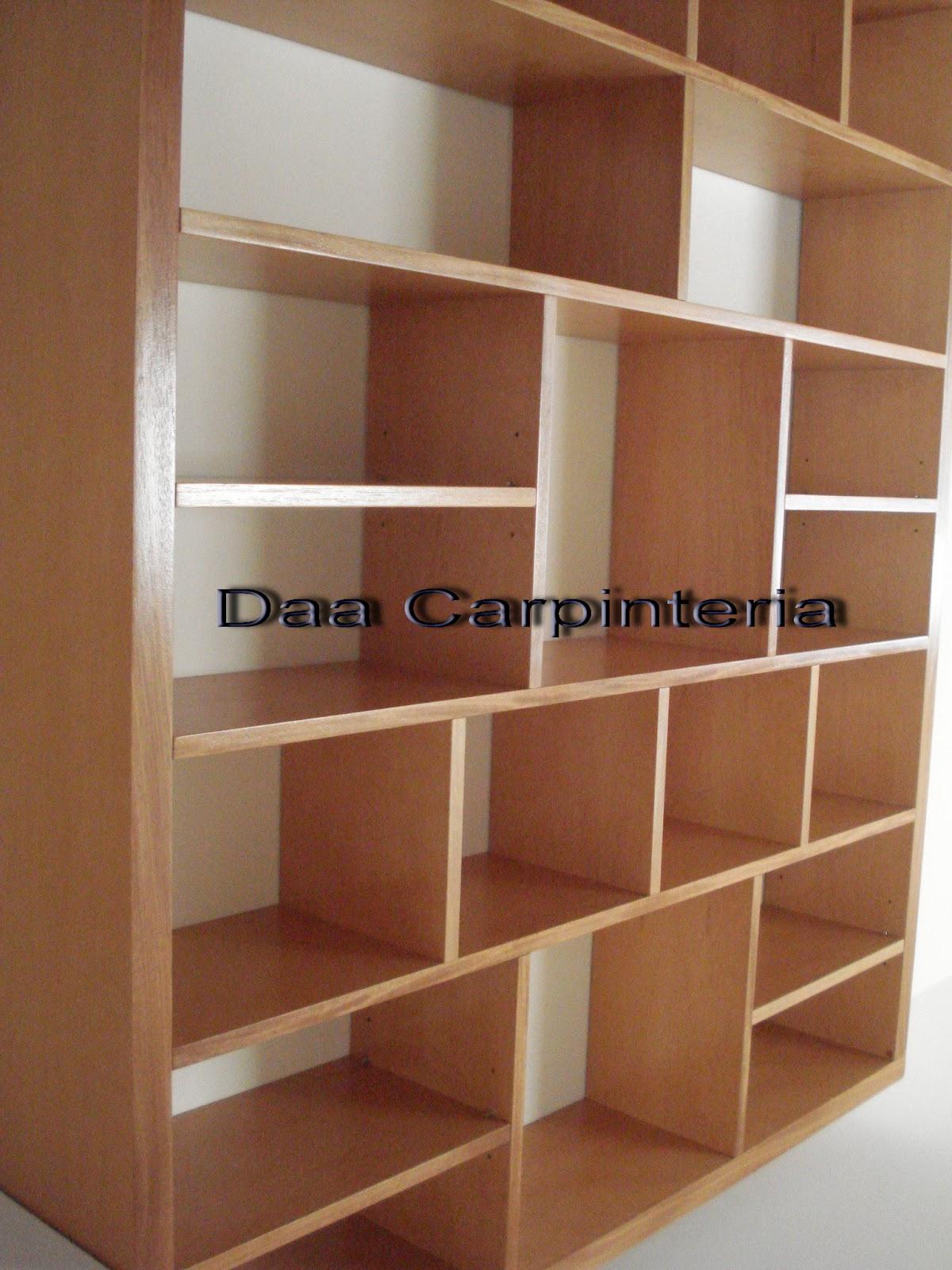 Muebles Living comedor Daa Carpintera