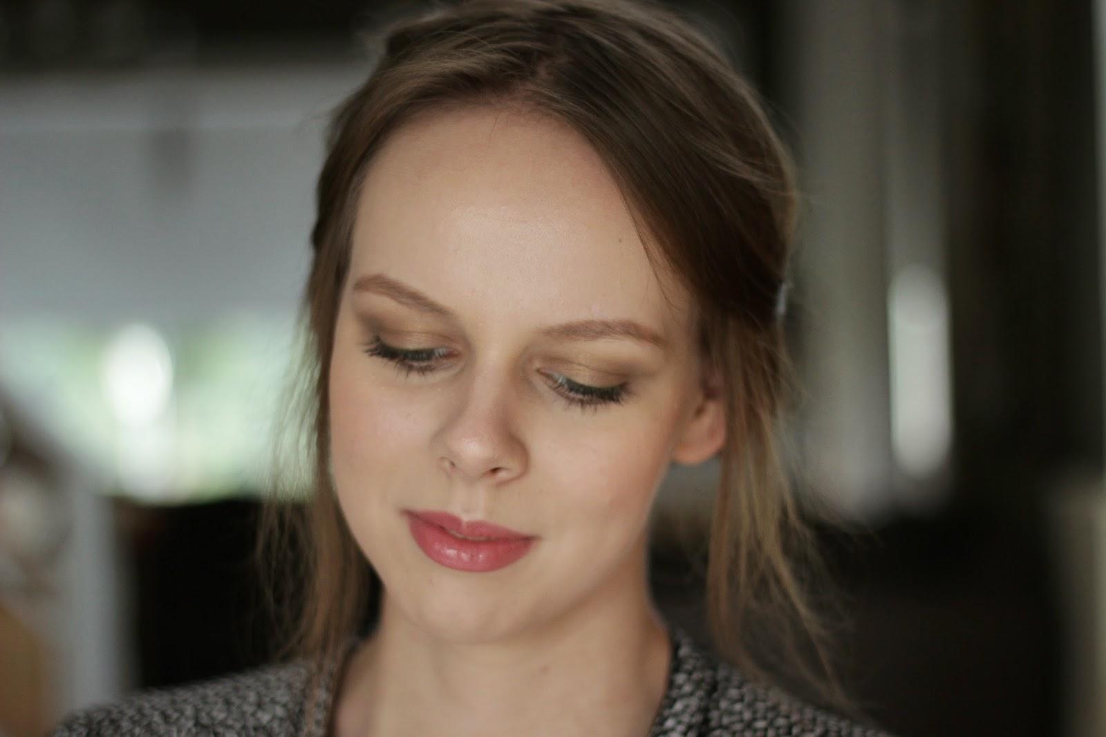 make-up look london feel, neutrale make-up look