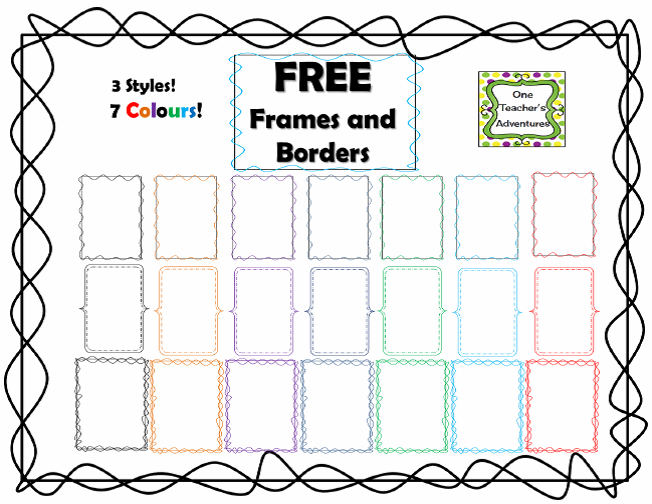 http://www.teacherspayteachers.com/Product/FREE-Frames-and-Borders-1291436