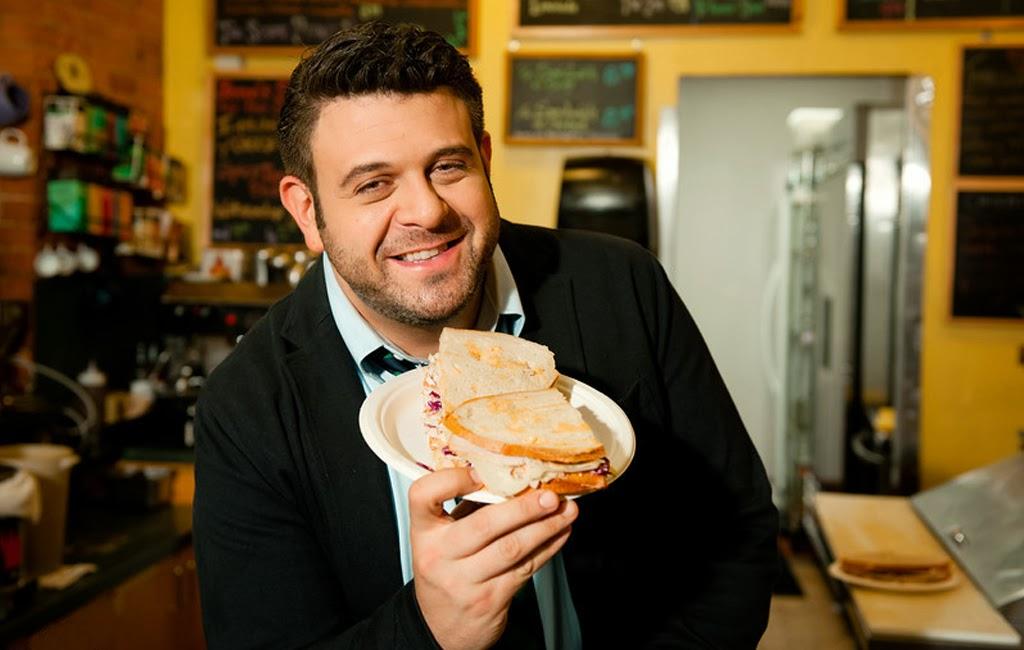 Adam Richman's Best Sandwich in América que seria en castellano los mejores sandwiches de america