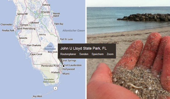 John U. Llyod Beach State Park in Fort Lauderdale, Florida USA