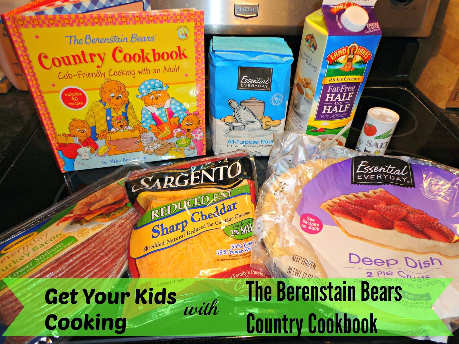 The Berenstain Bears Country Cookbook: Cub-friendly cooking with an Adult