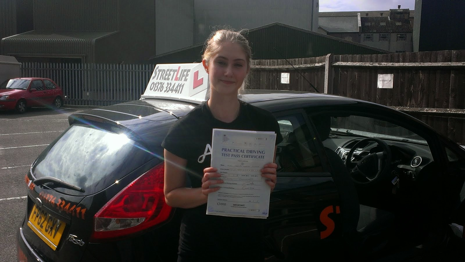 Streetlife driving school recent passes well done hannah for Motor city driving school
