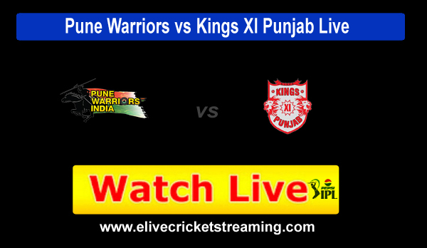 Pune vs Punjab Pepsi IPL Live Streaming 2013