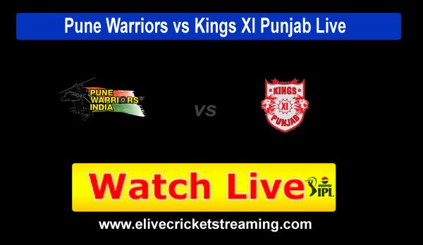 Pune vs Punjab Pepsi IPL Live Streaming 2013