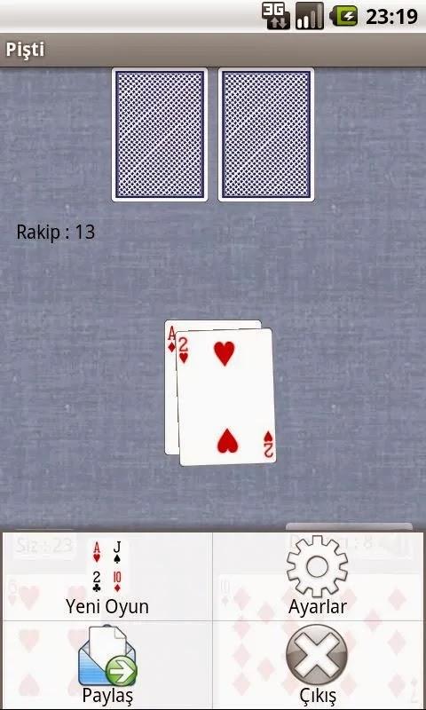 Android Pişti Apk Oyun resimi 1