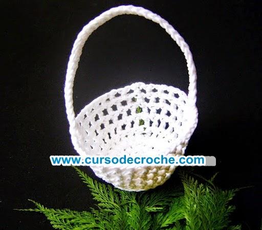 aprender croche cestas mini lembrancinhas curso de croche loja dvd edinir-croche frete gratis