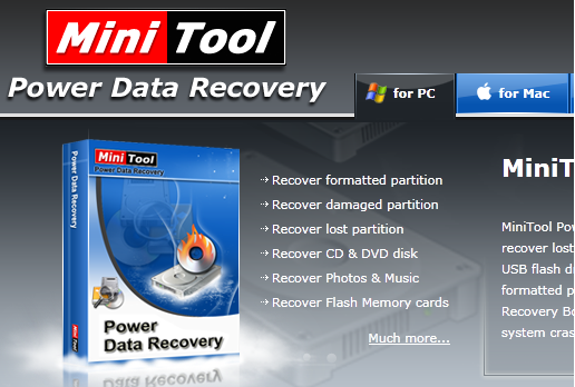 MiniTool Power Data Recovery Personal 7 Free License Download